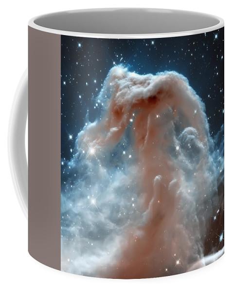 Nasa Images Coffee Mug featuring the photograph Horse Head Nebula by Jennifer Rondinelli Reilly - Fine Art Photography