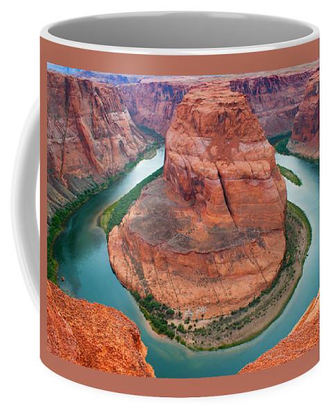 Coffee Mug featuring the photograph Horseshoe Bend Arizona by Reed Rahn