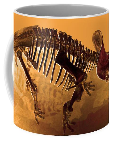 Hostile Fossil Coffee Mug featuring the photograph Hostile Fossil by JP McKim