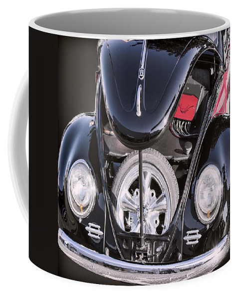 Vw Coffee Mug featuring the photograph Hot Rod Vw by Cathy Anderson