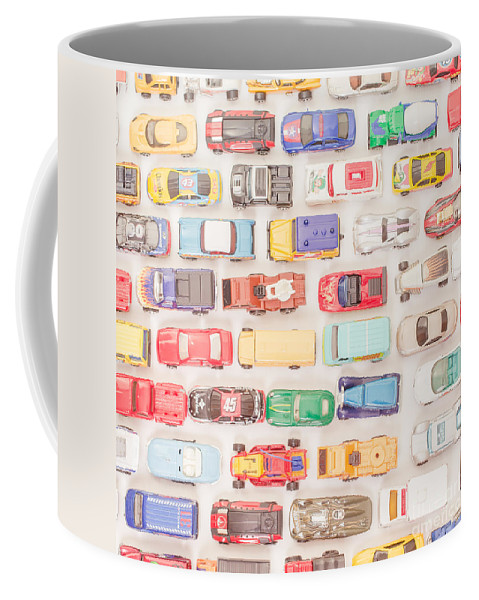 Cars Coffee Mug featuring the photograph Hot Wheels Square Format by Edward Fielding