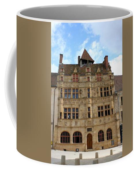 Hotel De Ville Coffee Mug featuring the photograph Hotel De Ville - Paray Le Monial by Christiane Schulze Art And Photography
