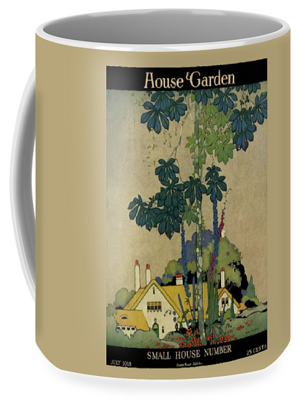 House And Garden Coffee Mug featuring the photograph House And Garden Cover by H. George Brandt