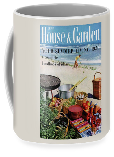 Entertainment Coffee Mug featuring the photograph House And Garden Ideas For Summer Issue Cover by Tom Leonard