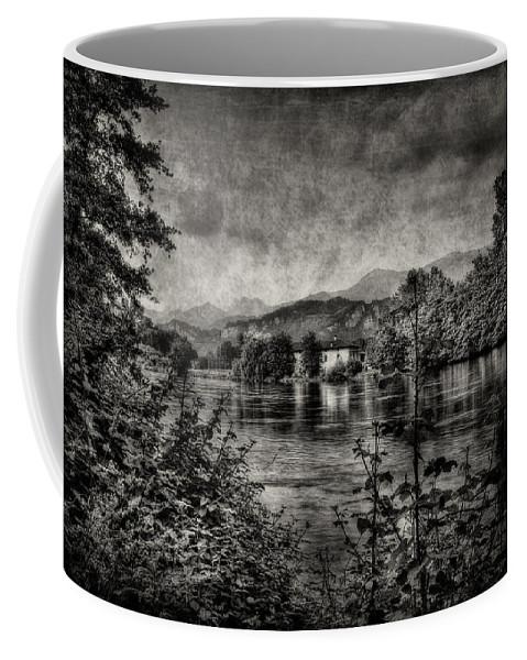 Adda Coffee Mug featuring the photograph House On The River by Roberto Pagani