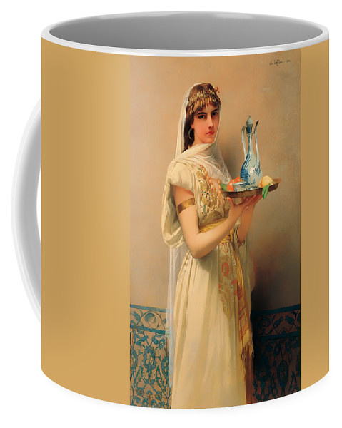Painting Coffee Mug featuring the painting Housemaid by Mountain Dreams