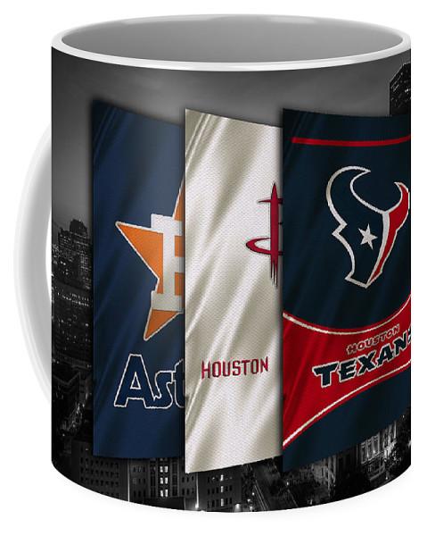 Astros Coffee Mug featuring the photograph Houston Sports Teams by Joe Hamilton
