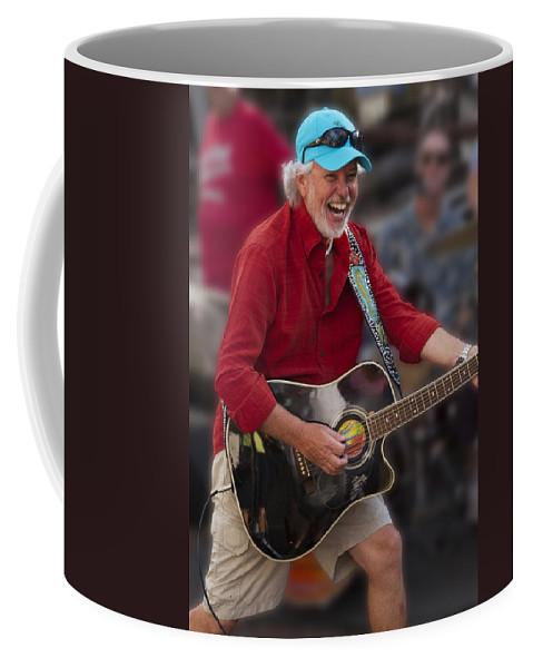 Band Coffee Mug featuring the photograph Howard Livingston by Bob Slitzan