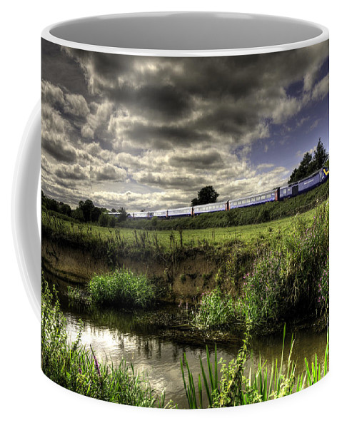 Rewe Coffee Mug featuring the photograph Hst In The Culm Valley by Rob Hawkins