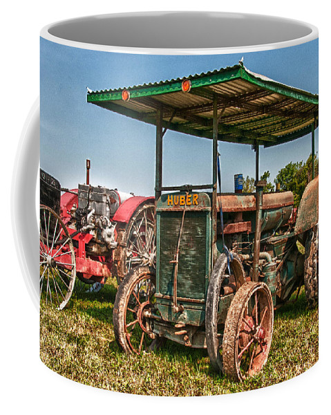Guy Whiteley Photography Coffee Mug featuring the photograph Huber Tractor by Guy Whiteley