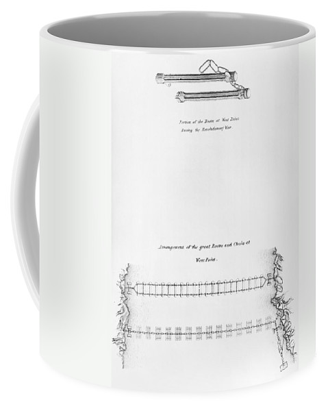 1778 Coffee Mug featuring the photograph Hudson River: Chain, C1778 by Granger