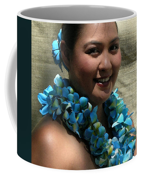 Hawaii Iphone Cases Coffee Mug featuring the photograph Hula Blue by James Temple