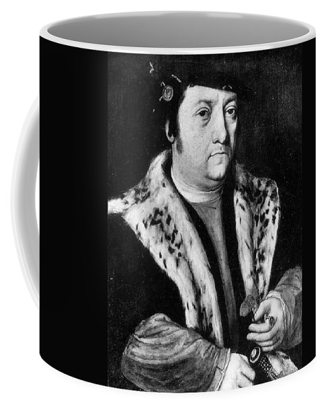 15th Century Coffee Mug featuring the painting Huldreich Zwingli (1484-1531) by Granger