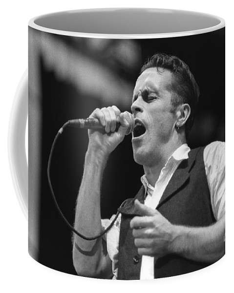 Singer Coffee Mug featuring the photograph Hunters And Collectors by Concert Photos
