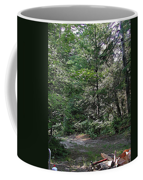 Axe Coffee Mug featuring the photograph Hunter's Dam #2 by Joseph Yarbrough