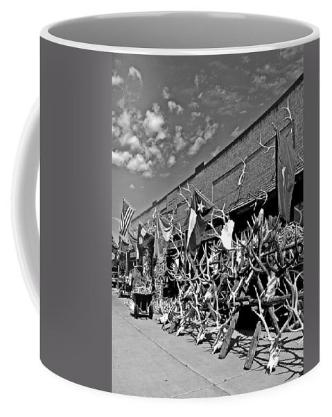 Antler Coffee Mug featuring the photograph Hunter's Paradise by Dan Sproul