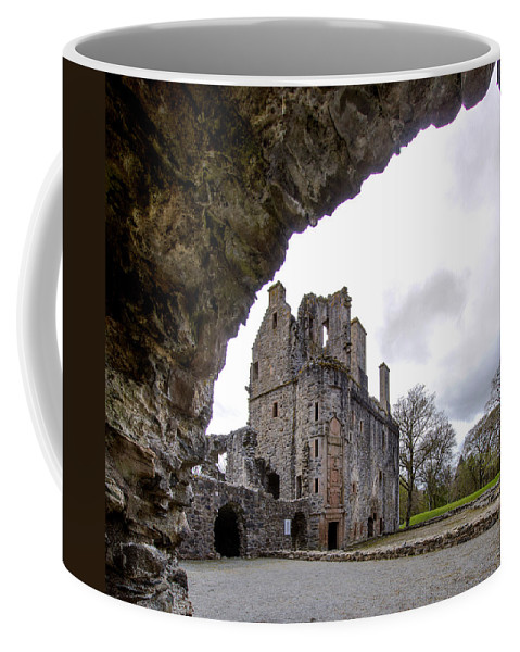 Huntly Coffee Mug featuring the photograph Huntly Castle - 6 by Paul Cannon