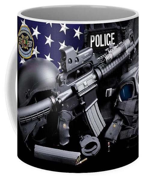 Huntsville Police Coffee Mug featuring the photograph Huntsville Police by Gary Yost