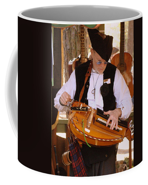 Fine Art Coffee Mug featuring the photograph Hurdy Gury Man by Rodney Lee Williams
