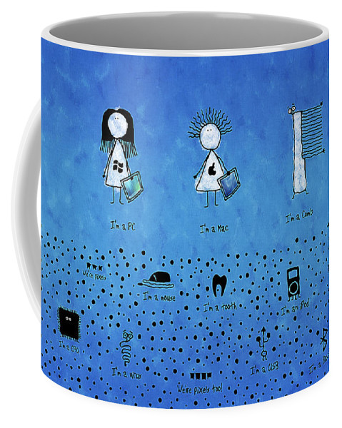Pc Coffee Mug featuring the photograph I Am What I Am by Gianfranco Weiss