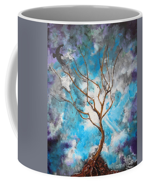 Impressionism Coffee Mug featuring the painting I Come To Thee by Stefan Duncan