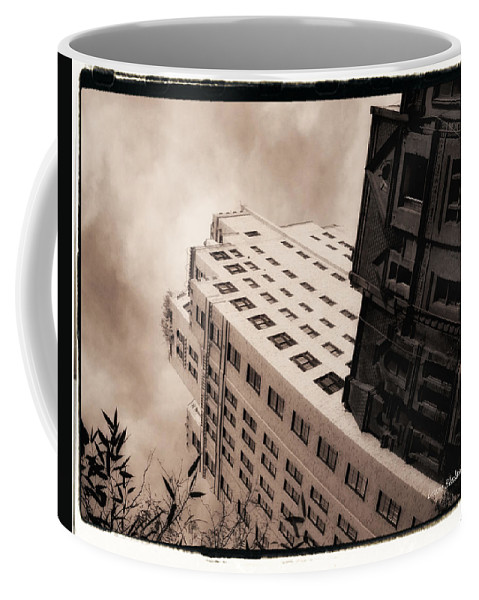 New York Coffee Mug featuring the photograph I Have A Crush On You by Donna Blackhall