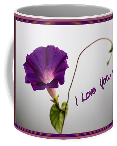 I Love You Coffee Mug featuring the photograph I Love You by Travis Truelove