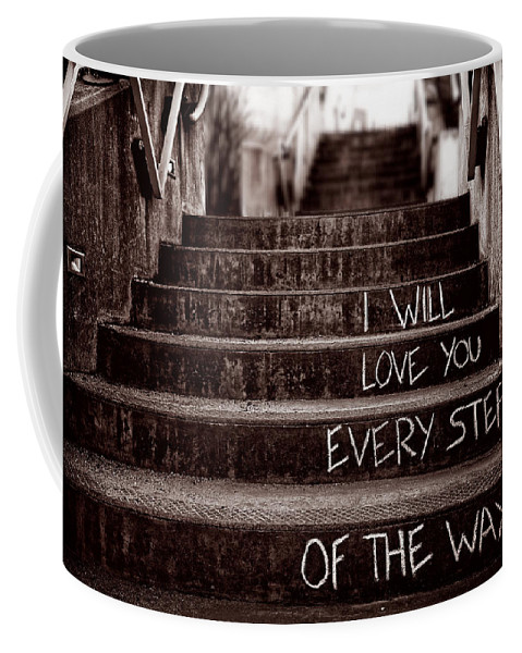 Love Coffee Mug featuring the photograph I Will Love You by Bob Orsillo