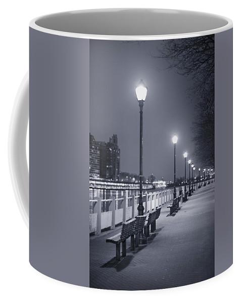 Roosevelt Island Coffee Mug featuring the photograph I Wonder As I Wander by Evelina Kremsdorf
