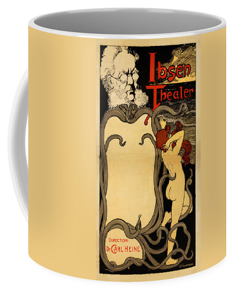 Ibsen Coffee Mug featuring the photograph Ibsen Theater by Bill Cannon