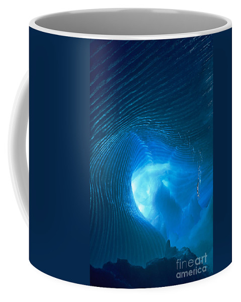 North America Coffee Mug featuring the photograph Ice Cave Ripples Sequoia National Park by Dave Welling