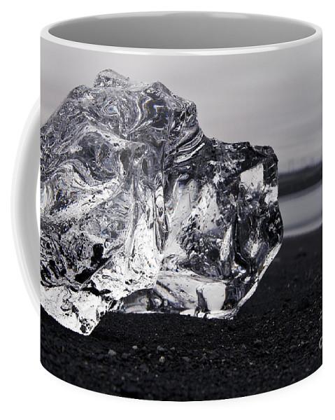 Jokulsarlon Coffee Mug featuring the photograph ice by Gunnar Orn Arnason