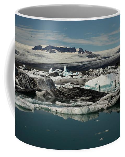 Iceberg Coffee Mug featuring the photograph Ice by Ivan Slosar