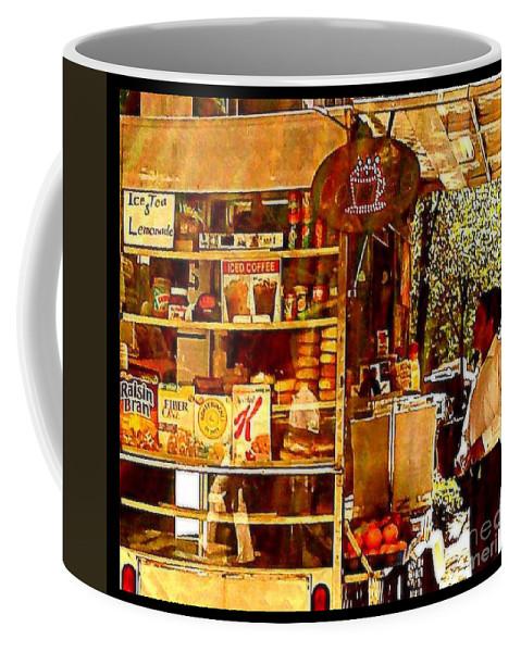 New York Coffee Mug featuring the photograph Ice Tea And Lemonade by Miriam Danar