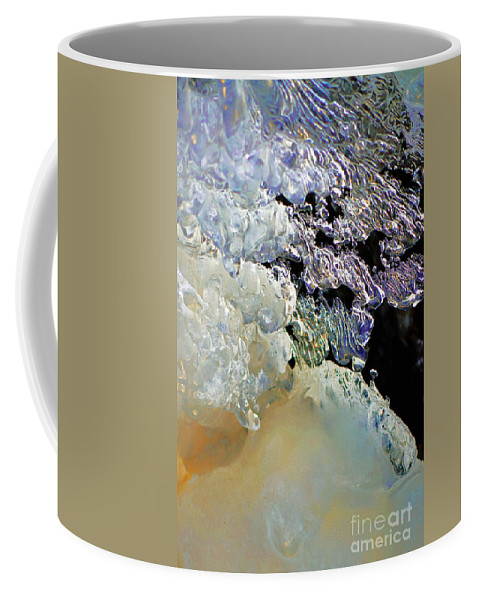 Ice Coffee Mug featuring the photograph Ice Transformation IIi by Gwyn Newcombe