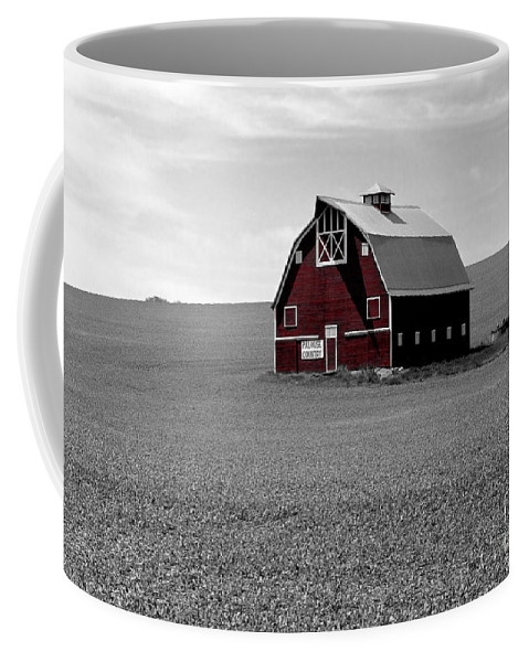 Palouse Coffee Mug featuring the photograph Icon Of The Palouse by Sharon Elliott