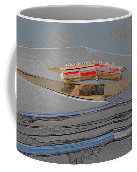 Automotive Details Coffee Mug featuring the photograph Iconic Emblem by John Schneider