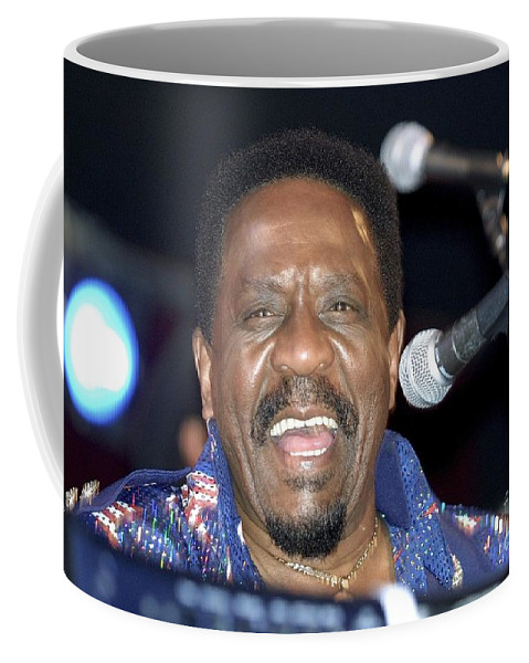 Performing Coffee Mug featuring the photograph Musician Ike Turner by Concert Photos