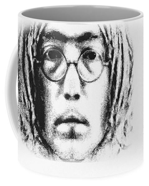 Imagine Coffee Mug featuring the digital art Imagine by Bill Cannon