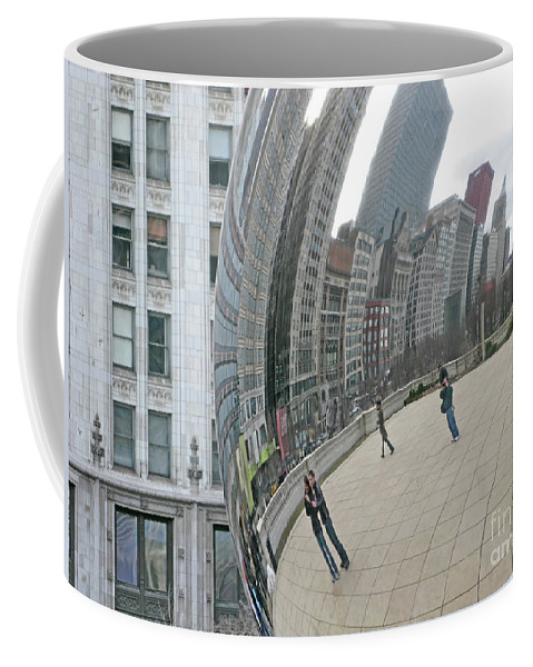 Chicago Coffee Mug featuring the photograph Imaging Chicago by Ann Horn