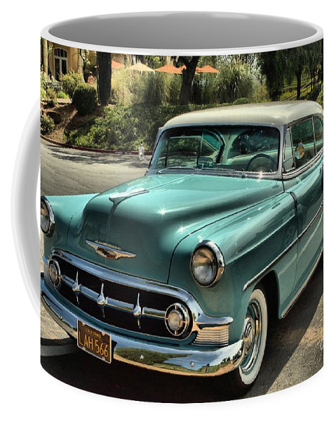 Car Coffee Mug featuring the photograph Img 8462_ Chevy Bellaire by Randy Matthews