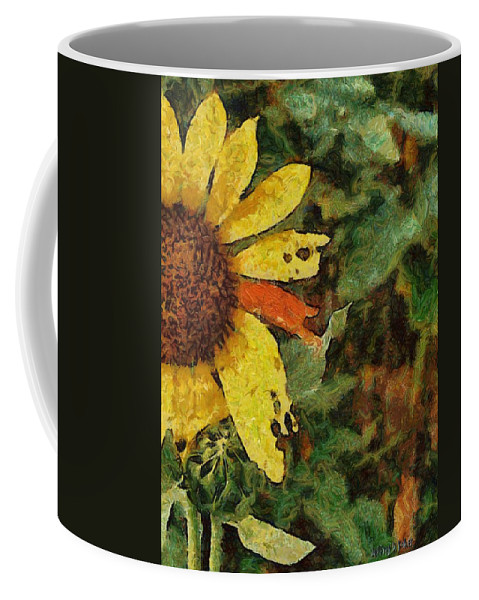 Beauty Coffee Mug featuring the painting Imperfect Beauty by Jeffrey Kolker