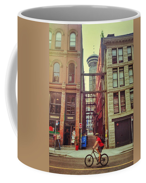 Street Coffee Mug featuring the photograph Importantly Gone by The Artist Project