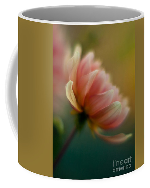 Dahlia Coffee Mug featuring the photograph Impressionist Dahlia by Mike Reid