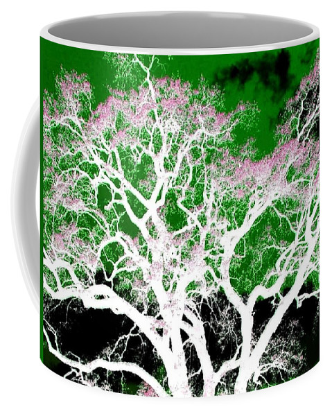 Impressions Coffee Mug featuring the digital art Impressions 1 by Will Borden