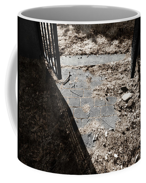 Gate Coffee Mug featuring the photograph In Memory by Luke Moore