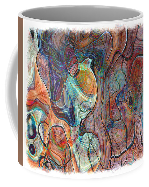 Abstract Coffee Mug featuring the photograph In My Minds Eye by Susan Leggett