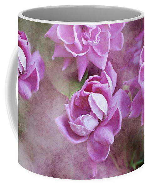 Flowers Coffee Mug featuring the photograph In Pink by Diana Angstadt