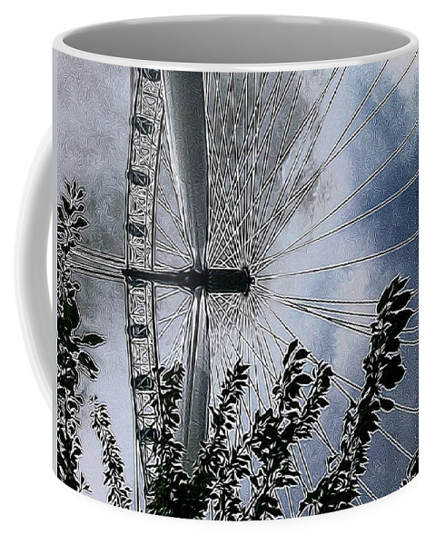 London Eye Coffee Mug featuring the photograph In The Eye Of The Beholder by Mark J Dunn