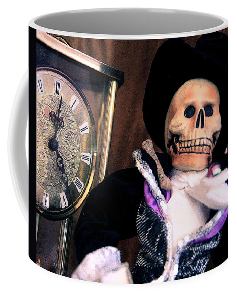 Day Of The Dead Coffee Mug featuring the photograph In The Fullness Of Time by Joe Kozlowski